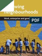 Renewing Neighbour Hood - Work, Enterprise and Governance
