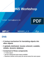 DNS Workshop- Apnic