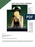 Grey Gardens Study Guide