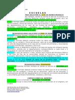 REQUISITOS_ESCUELAS 2013