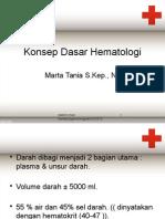 Konsep Dasar Hematologi