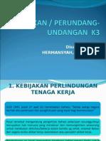 KEBIJAKAN K3 (1)