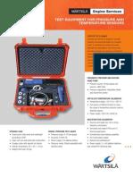 Test Equipment for Pressure