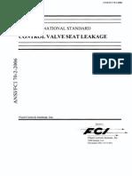 ASME FCI 70-2