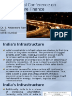 International Conference on Infrastructure Finance Development