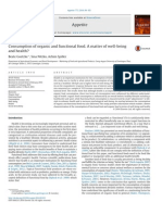 Consumption of organic and functional food. A matter of well-being.pdf