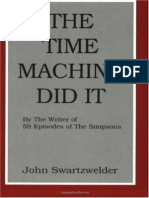 Time Machine Did It the - John Swartzwelder