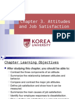 Ch 3. Attitudes & Job Satisfaction