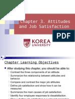 Ch 3. Attitudes & Job Satisfaction