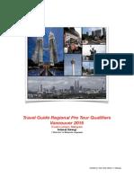 RPTQ Malaysia 2015 Travel Guide