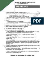 Phonetics Rules
