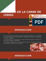 Calidad de La Carne de Cerdo