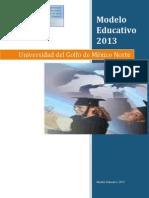 Modelo Educativo Ugmn 2013