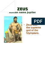 Greek Gods and Goddesss