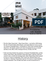 Industrial Training at jeha numa palace bhopal