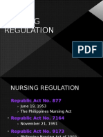 Nursing Regulation