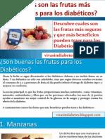 Las Frutas Más Saludables Para los Diabeticos