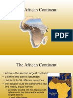 The African Con0tinent