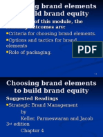 Choosing brand elements to build brand equity.ppt