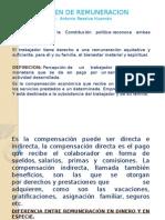 Expoc. de Regimen de Remuneracion