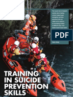 Howth Coast Guard - Training In Suicide Prevention Skills, Emergency Services Ireland Magazine