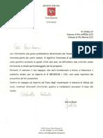 Lettera d'Impegno Del Presidente E Rossi 11 3 2015