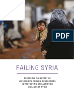 Failing Syria Unsc Resolution