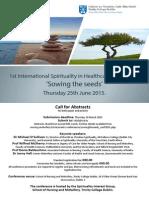 spirituality conference 2015