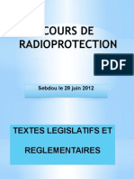 Cours de Radioprotection