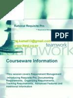 Rational Requisite Pro Advanced