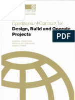 FIDIC CoC for Design, Build and Operate Gold