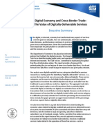 Value of Digitally-Deliverable Services