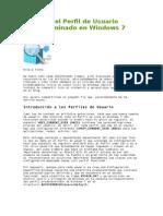 Editando El Perfil de Usuario Predeterminado en Windows 7