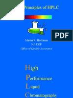 HPLC on progres