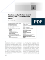 Practice Audit, Medical Record