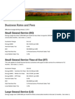 Business Rates and Fees 2015 - City of Burlington-Electric