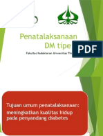 Penatalaksanaan DM Tipe 2