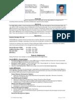 Mirza Naeem Baig CV