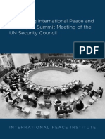 Maitaining Iternational Peace and Security