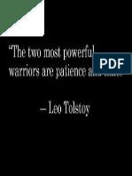 4leo Tolstoy