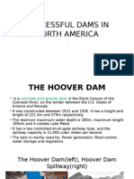 Successful Dams in North America