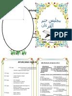 Buku Program Khatam Al Quran