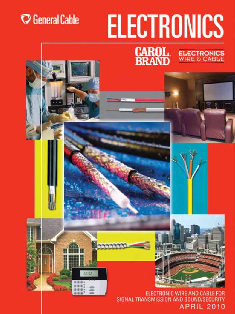 Electronics Catalog | Electrical Wiring | Cable