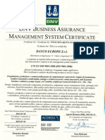 Dayco Qualitycertificate Iso9001 2013