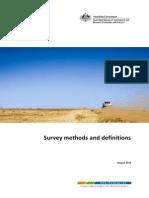 Survey Definitions Methods