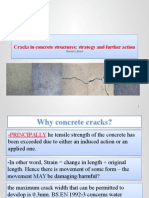 Cracks in Concrete Structures