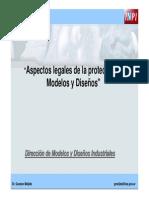 Aspectos Legales Modelos y Diseños
