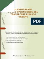Etapas Transporte Urbano