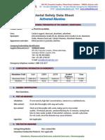 Aluminium Oxide Chromatography MSDS