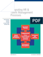 Integrating HR & Talent Management Processes
